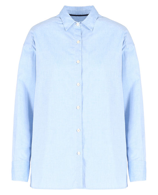 Woolrich Damen Alpina Oxford Shirt OXFORD BLUE