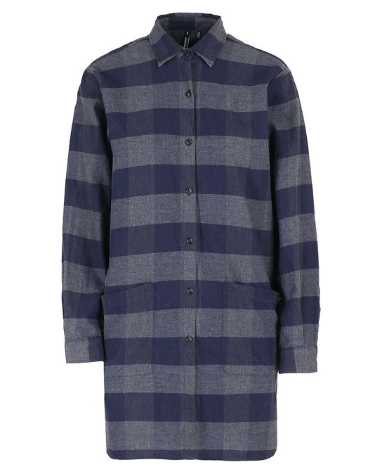 Woolrich Damen Alpina Flannel Shirt Blue Buffalo