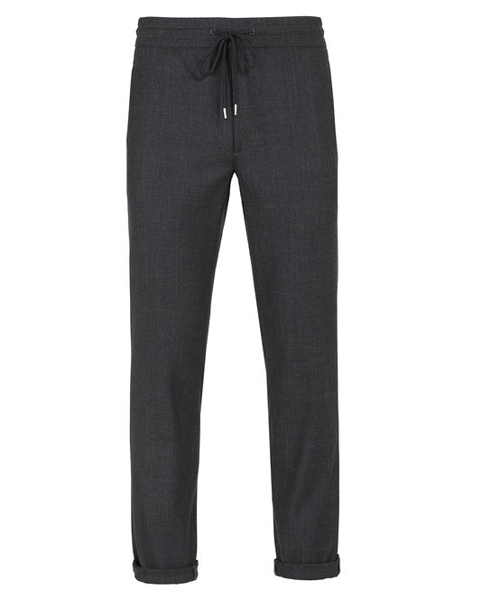 Woolrich Herren Cool Wool Pant Charcoal