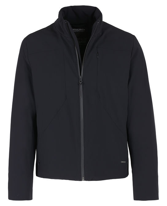 Woolrich Herren Stretch Track Jacket BLACK