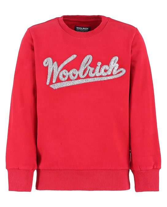 Woolrich Kinder Crew Heritage Red
