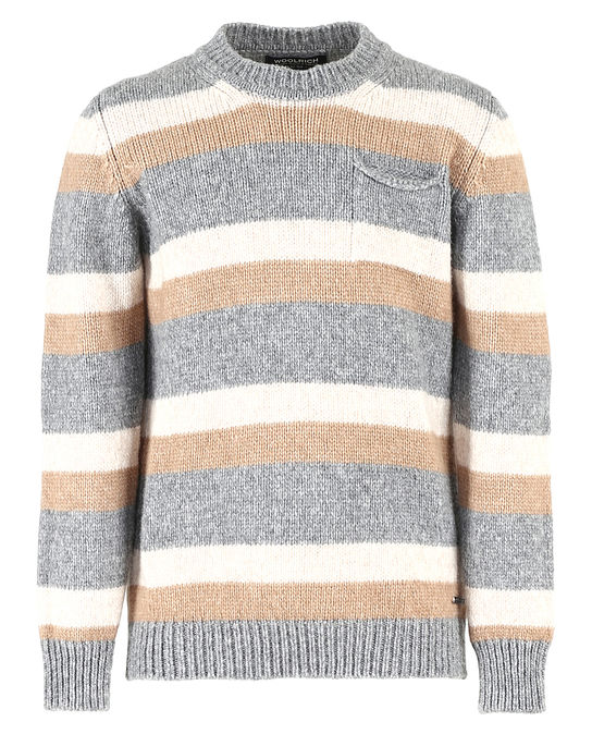Woolrich Kinder Stripe Sweater Stripe Natural