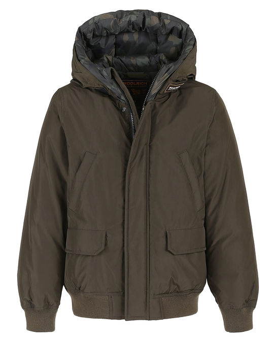 Woolrich Kinder Arctic Jacket Camou Nf DARK GREEN