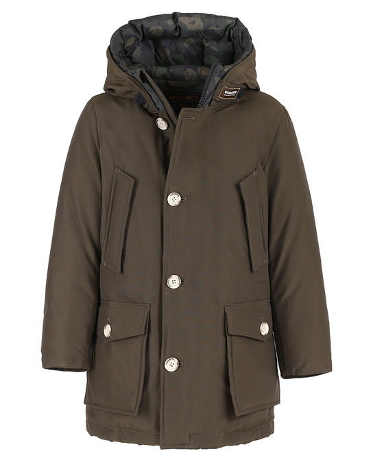 Woolrich Kinder Arctic Parka Nf Camou DARK GREEN