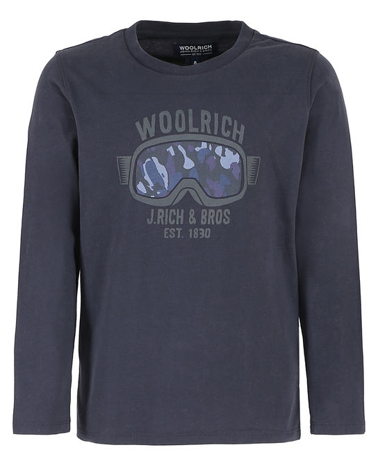 Woolrich Kinder Tee DARK NAVY