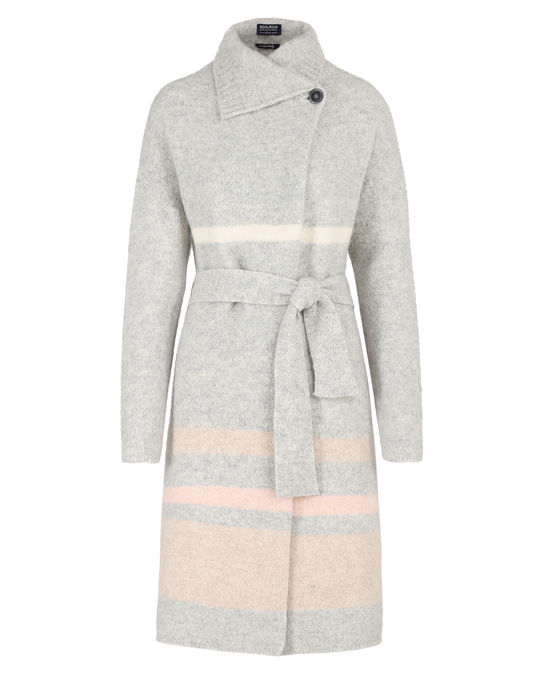 Woolrich Damen Felted Yak Coat Glacier Grey St